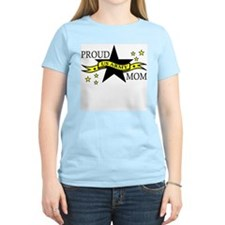 Proud Army Mom Hero Poem Women's Pink T-Shirt