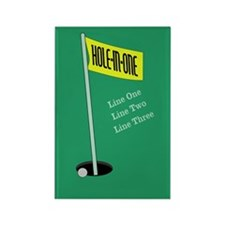 Golf Hole in One Rectangle Magnet (100 pack)