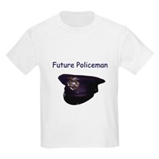 future policeman Kids T-Shirt