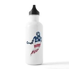 USA Lacrosse Water Bottle