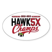 HAWK5X Decal