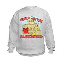 Queen Of The Sandcastles Sweatshirt