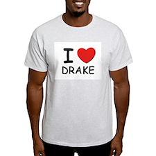 I love Drake Ash Grey T-Shirt