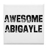 Awesome Abigayle Tile Coaster