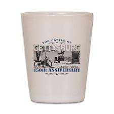 150 Anniversary Gettysburg Battle Shot Glass