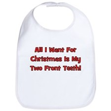 All I Want For Christmas Bib