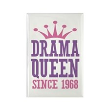 Drama Queen Since 1968 Rectangle Magnet
