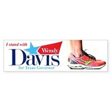 Wendy Davis Bumper Car Sticker