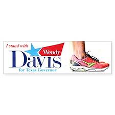Wendy Davis Bumper Bumper Sticker