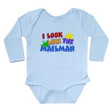 Mailman's Kid Long Sleeve Infant Bodysuit