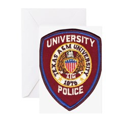 Texas A & M Police Greeting Cards (Pk of 10)