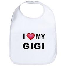 I LOVE MY GIGI Bib