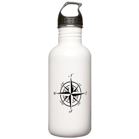Vintage Compass Water Bottle