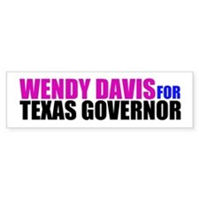 Wendy Davis for Governor Bumper Sticker
