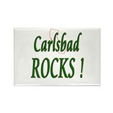 Carlsbad Rocks ! Rectangle Magnet