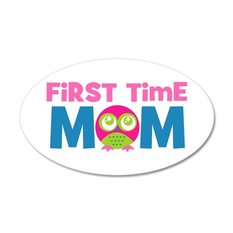 First Time Mom Maternity Wall Sticker