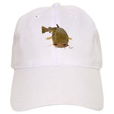Fat Flathead catfish Baseball Baseball Cap