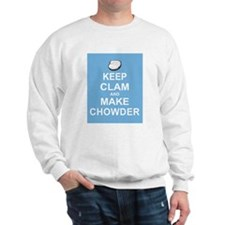 Keep Clam and Make Chowder Sweatshirt