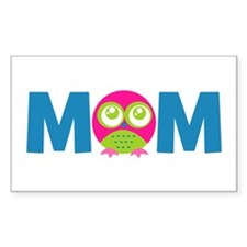 Owl Mom Decal
