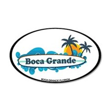 Boca Grande - Surf Design. Wall Decal