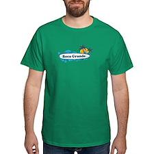 Boca Grande - Surf Design. T-Shirt