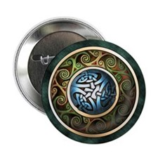 """Celtic Knot Circle 2.25"""" Button (10 pack)"""