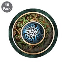 "Celtic Knot Circle 3.5"" Button (10 pack)"