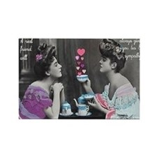 Tea And Sympathy Rectangle Magnet
