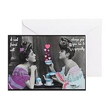Tea & Sympathy Greeting Card