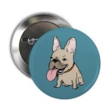"Frenchie 2.25"" Button"