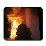 Firefighter Flashover Mousepad