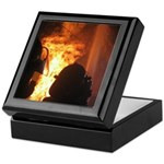 Firefighter Flashover Keepsake Box
