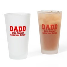 Cute Dads against daughter dating Drinking Glass