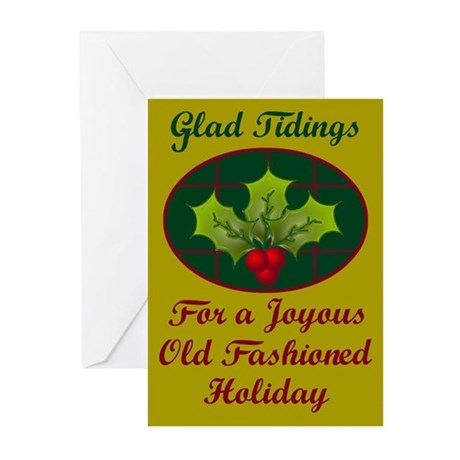 Io Saturnalia! (No Toga) Greeting Cards (Pk of 10)