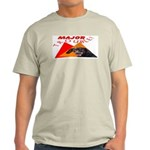 Dachshund Trouble Ash Grey T-Shirt