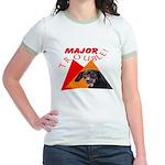 Dachshund Trouble Jr. Ringer T-Shirt
