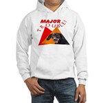 Dachshund Trouble Hooded Sweatshirt