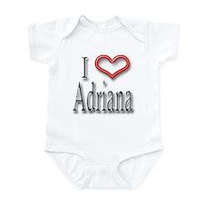 I Heart Adirana Infant Bodysuit