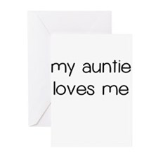 My Auntie Loves Me Greeting Cards (Pk of 10)