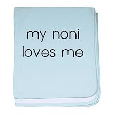 My Noni Loves Me baby blanket