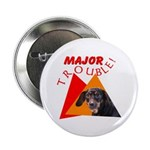 Dachshund Trouble Button