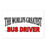 """The World's Greatest Bus Driver"" Postcards (Packa"
