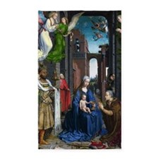 Mabuse: Adoration of the Kings 3'x5' Area Rug
