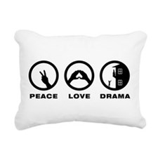 Romeo & Juliet Rectangular Canvas Pillow