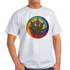 tie-dye Pot Leaf T-Shirt