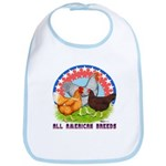 All American Breeds Bib