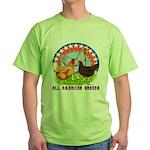 All American Breeds Green T-Shirt
