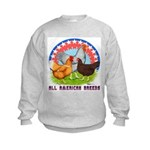 All American Breeds Kids Sweatshirt
