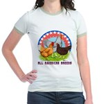 All American Breeds Jr. Ringer T-Shirt