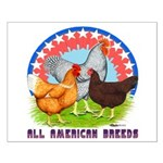 All American Breeds Small Poster